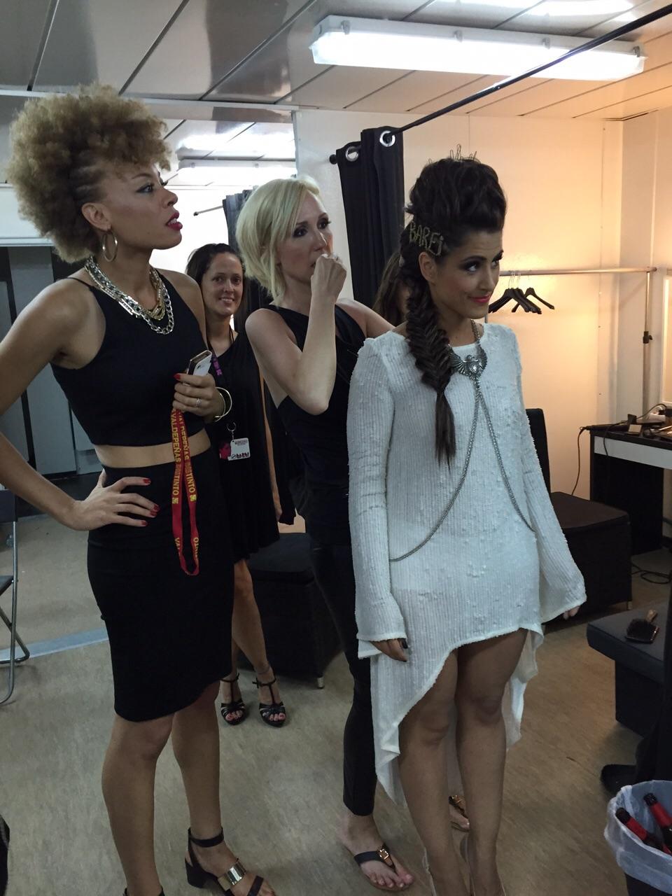 Peinado Barei Backstage Starlite