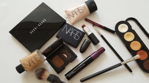 NARS, BOBBI BROWN, MAC, ATELIER, BURLESQUE